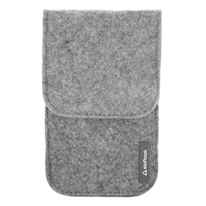 "Stuffcool Felt Pouch for upto 5"" Smartphones"