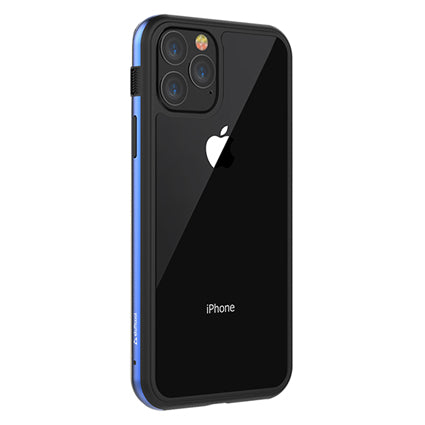 Stuffcool Frame Hard Clear Back Case Cover with Slim Metallic Bumper for Apple iPhone 11 Pro 5.8""