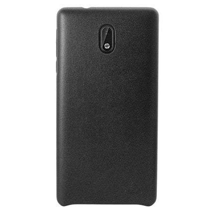 Stuffcool Leather Hard Back Case Cover for Nokia 3 (Feather Light Weight Case)
