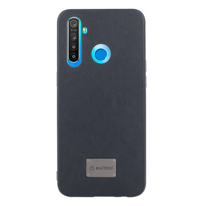 Stuffcool Haut PU Leather Back Case Cover for Realme 5 -  6.5""