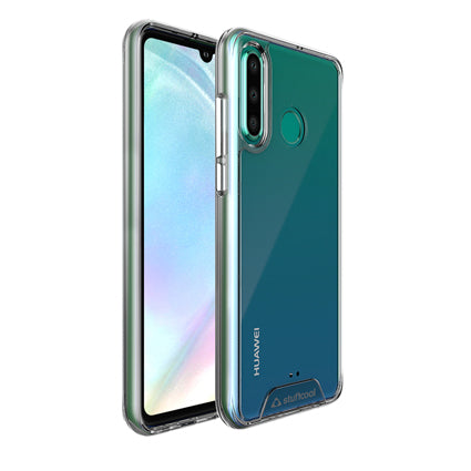 Stuffcool P30 Lite Case- Ice Hybrid Solid Soft Frame with Hard Back Cover for Huawei P30 Lite (Transparent)