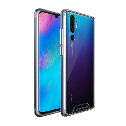 Stuffcool P30 Pro Case- Ice Hybrid Solid Soft Frame with Hard Back Cover for Huawei P30 Pro (Transparent)