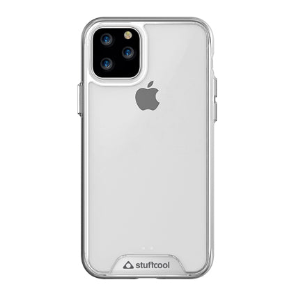 "Stuffcool Ice Hard Back Case Cover for Apple iPhone 11 Pro 5.8"" - Clear"