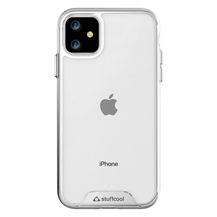 "Stuffcool Ice Hard Back Case Cover for Apple iPhone 11 6.1"" - Clear"