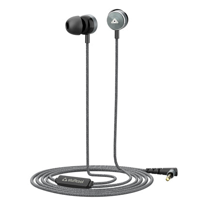 Stuffcool Jos In-Ear Wired Earphones Headphone with Stereo Sound and Hands-free Microphone and Volume Button