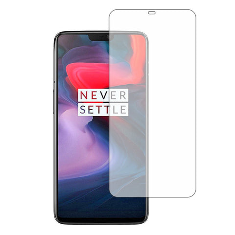 Stuffcool Mighty 2.5D Tempered Glass Screen Protector Guard for OnePlus 6 - Transparent