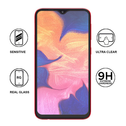 Stuffcool Mighty 2 5D Full Screen Tempered Glass Screen Protector for  Samsung Galaxy A10 - Black