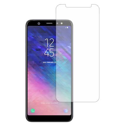 Stuffcool Mighty 2.5D Tempered Glass Screen Protector Guard for Samsung Galaxy A6 Plus (2018) - Transparent