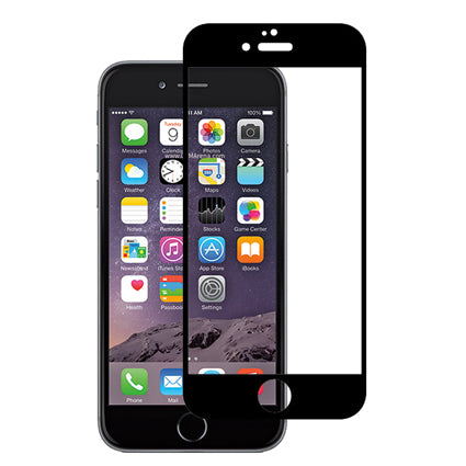 Stuffcool Mighty 3D Curved Full Screen Tempered Glass Screen Protector for Apple iPhone 6 / 6s (Case Friendly & Edge to Edge)