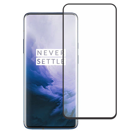 Stuffcool Mighty 3D Curved Full Screen Tempered Glass Screen Protector for OnePlus 7 Pro - Black