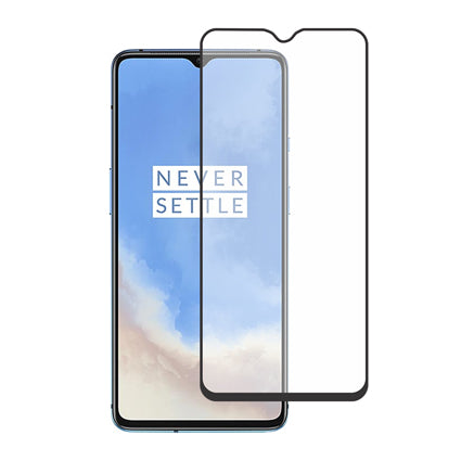 Stuffcool Mighty 2.5D Full Screen Tempered Glass Screen Protector for OnePlus 7T - Black