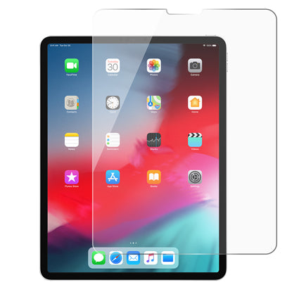 "Stuffcool Mighty Full Screen Tempered Glass Screen Protector for Apple iPad Pro 11"" - Transparent"