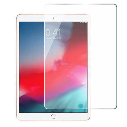 "Stuffcool Mighty Full Screen Tempered Glass Screen Protector for Apple iPad Air 10.5"" / iPad Air 3-2019 Model (Case Friendly & Edge to Edge) - Transparent"