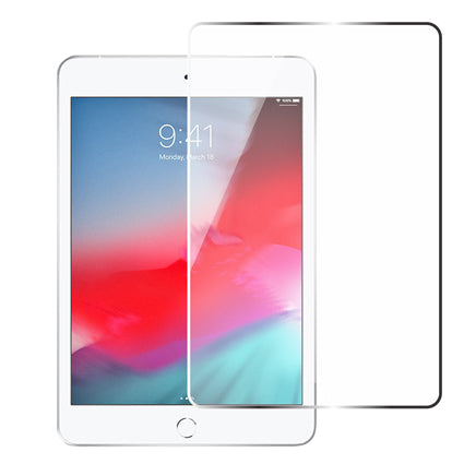 Stuffcool Tempered Glass Screen Protector for Apple iPad mini (2019) Full Screen Edge to Edge – Transparent 7.9""