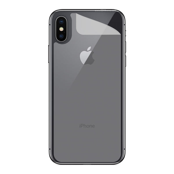 best website c7adb 301c9 Stuffcool Mighty Shield Super Clear Back Protector for Apple iPhone XS /  iPhone X - Clear
