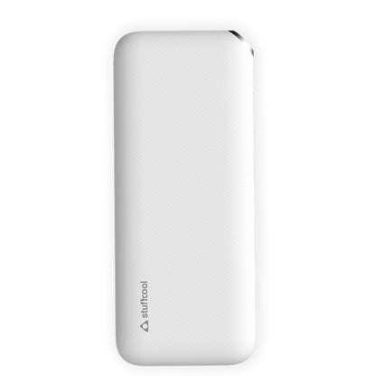 Stuffcool Dual USB 2A Output 10000 mAh Li Ion Power Bank Anti Slip Textured Housing