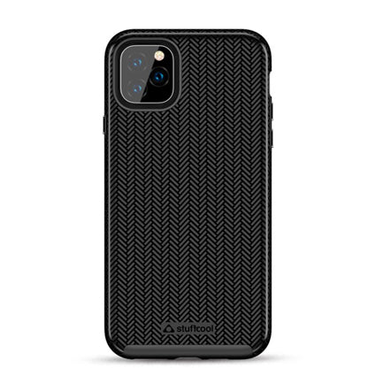 Stuffcool Pine Unique Textured Dual Layer Hard Back Case Cover for Apple iPhone 11 Pro Max 6.5""