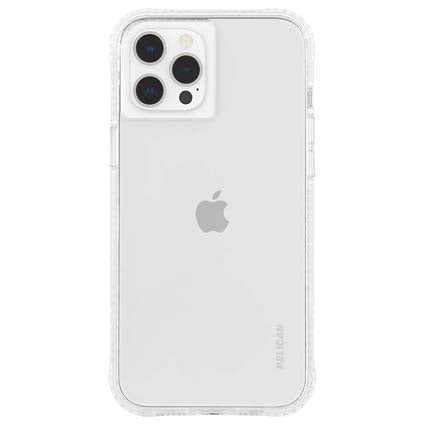 "Pelican Ranger Clear Hard Back Case Cover for Apple iPhone 12 Pro Max 6.7"" - Transparent"