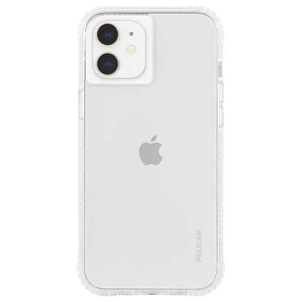 "Pelican Ranger Clear Hard Back Case Cover for Apple iPhone 12 Mini 5.4"" - Transparent"