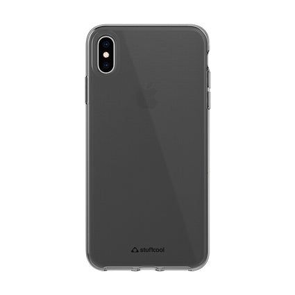 Stuffcool Pure Clear Soft Back Case Cover for Apple iPhone XS  / iPhone X