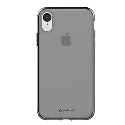 Stuffcool Pure Clear Soft Back Case Cover for Apple iPhone XR