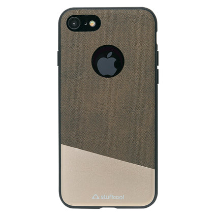Stuffcool Perla Dual Tone Fashion & Stylish Leather Back Case Cover for Apple iPhone 8 / iPhone 7