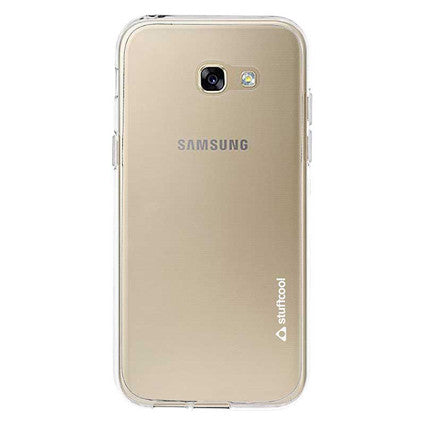 sports shoes a025a 81a49 Stuffcool Pure Transparent Soft Back Case Cover for Samsung Galaxy A7 2017  - Clear