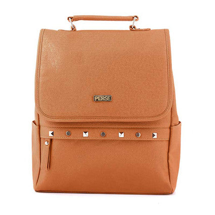 PERSE Orange Drizzle Fashion BackPack