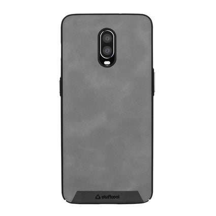 Stuffcool Rego PU Leather Back Case Cover for OnePlus 6T