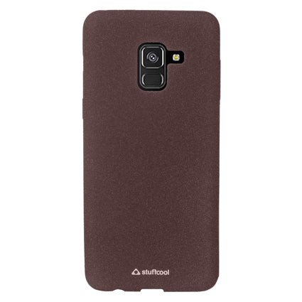Stuffcool Sable Sandy Finish Textured TPU Soft Back Case Cover for Samsung Galaxy A8 Plus 2018