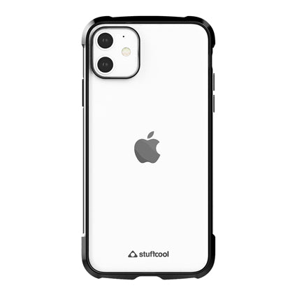Stuffcool Shine Armour Soft Back Case Cover for Apple iPhone 11 6.1""