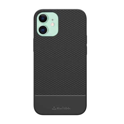 Stuffcool Shield Armour Soft Back Case Cover for Apple iPhone 12 Mini 5.4""