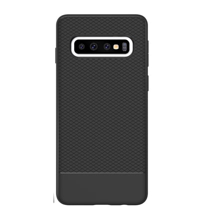 Stuffcool Shield Armour Soft Back Case Cover for Samsung Galaxy S10 Plus