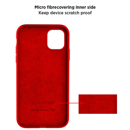 Stuffcool Silo Soft & Smooth Slimmest Back Case Cover for Apple iPhone 11