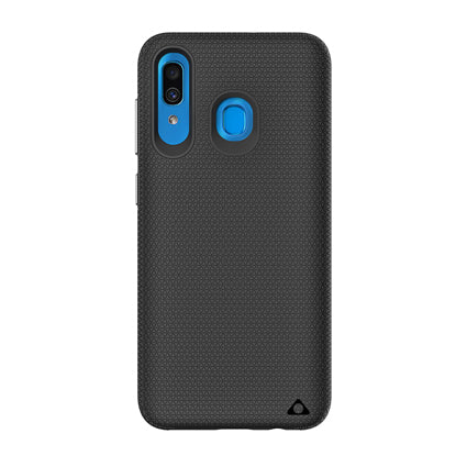 Stuffcool Spike Tough & Solid Dual Layer Hard Back Case Cover for Samsung Galaxy A30 / A20