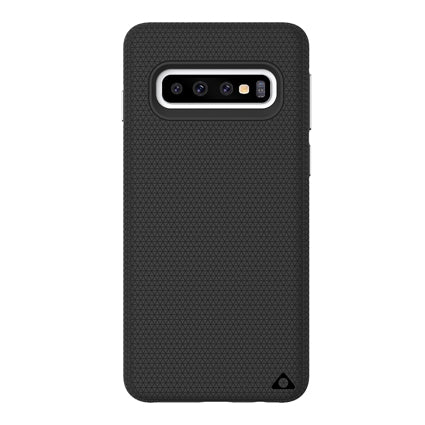 Stuffcool Spike Tough & Solid Dual Layer Hard Back Case Cover for Samsung Galaxy S10 Plus