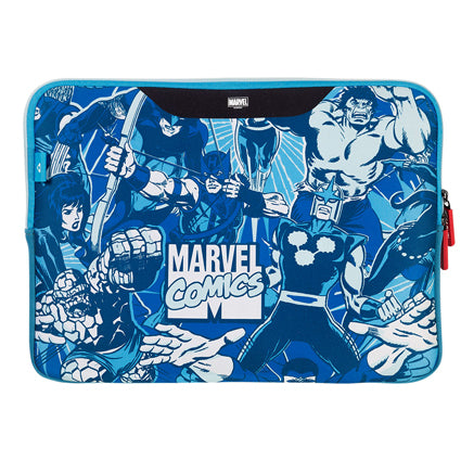 Stuffcool MARVEL Soft Laptop Sleeve for upto 15.4 Inch Macbook Pro / 14 Inch Laptop - Official MARVEL ® Licensed Product for India (COMIC 2)