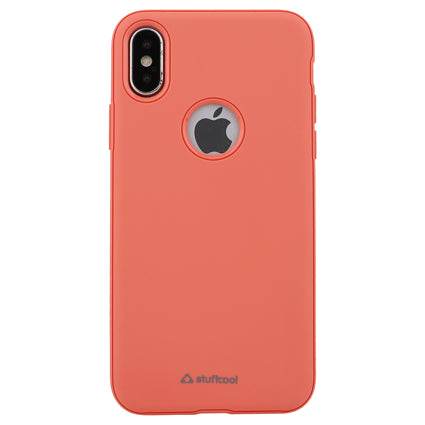 Stuffcool Soft Flexible TPU Armour Back Case Cover for Apple iPhone XS / iPhone X