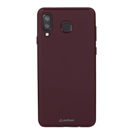 Stuffcool Soft Flexible TPU Armour Back Case Cover for Samsung Galaxy A8 Star (Made In South Korea)
