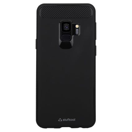 Stuffcool Soft Flexible TPU Armour Back Case Cover for Samsung Galaxy S9