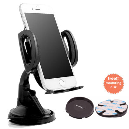 Stuffcool Clasp Mini Car Mount Holder for Smartphones