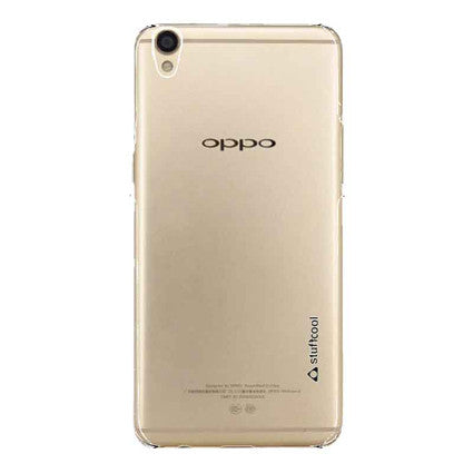 Stuffcool Clair Hard Back Case Cover for Oppo R9
