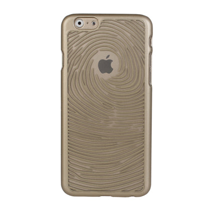 Stuffcool Etch Swirl Hard Textured Back Case Cover for Apple iPhone 6 / 6S - Gold