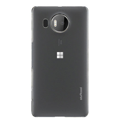 Stuffcool Clair Transparent Hard Back Case for Lumia 950 XL