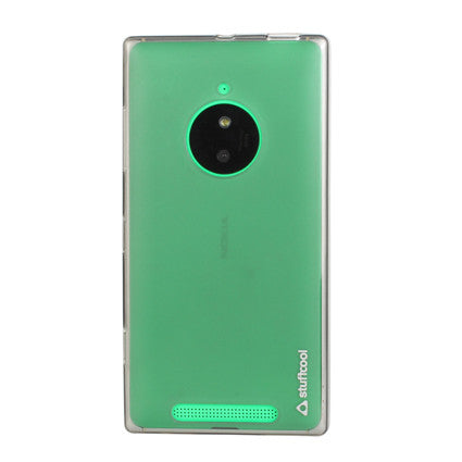 Stuffcool Lisse Soft Back Case Cover for Nokia Lumia 830