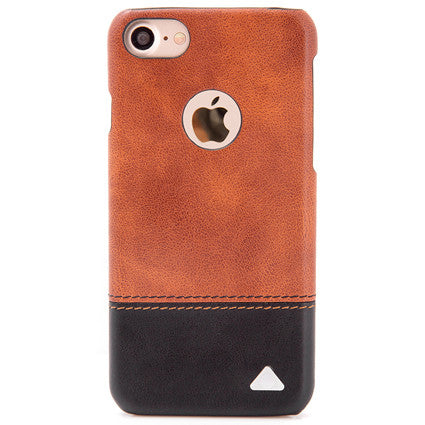 size 40 87fa0 406d0 Stuffcool Dual Tone Leather Hard Back Case Cover for Apple iPhone 7