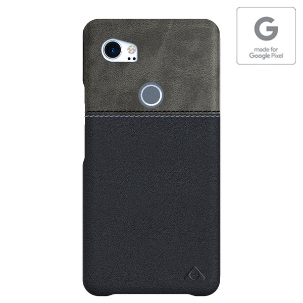 Stuffcool Lush Dual Tone Leather Hard Back Case Cover for Google Pixel 2 XL (Authorised made for Google Pixel Accessory)