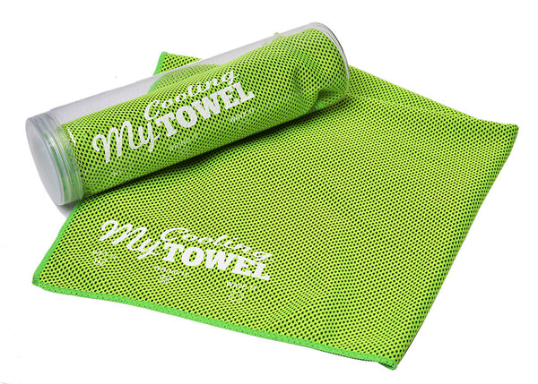 My Cooling Towel™ Funky Green