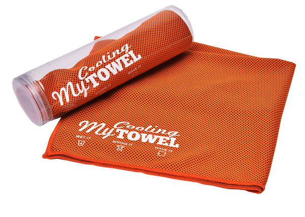 My Cooling Towel™ Citrus Orange