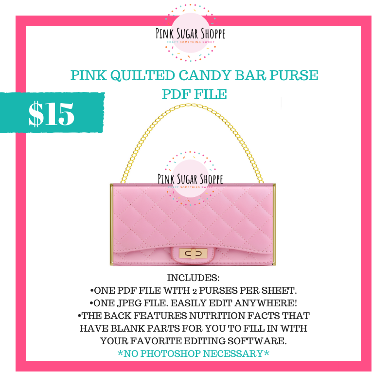 PSS - PINK QUILTED - PURSE FILE